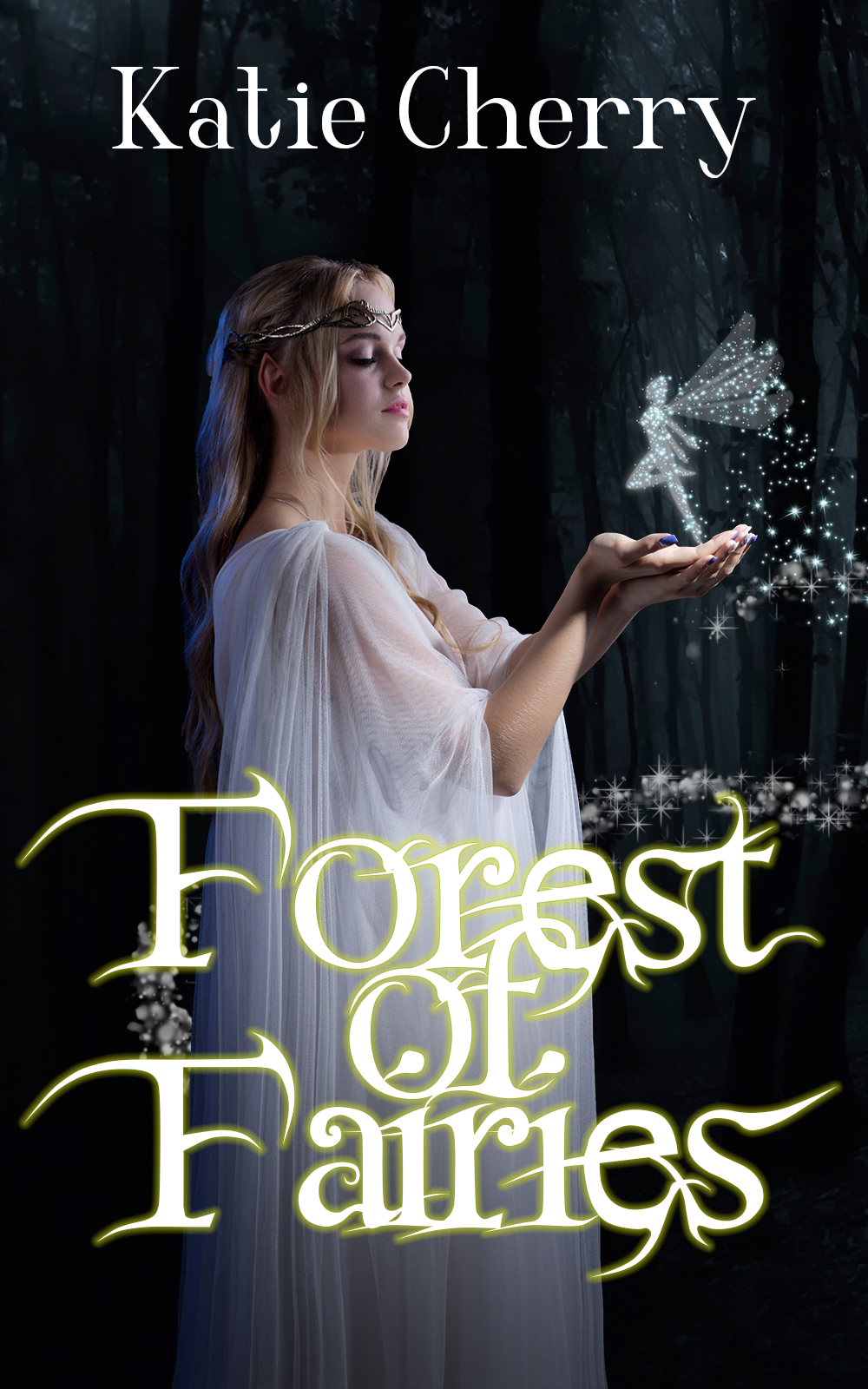 forest of fairies by katie cherry